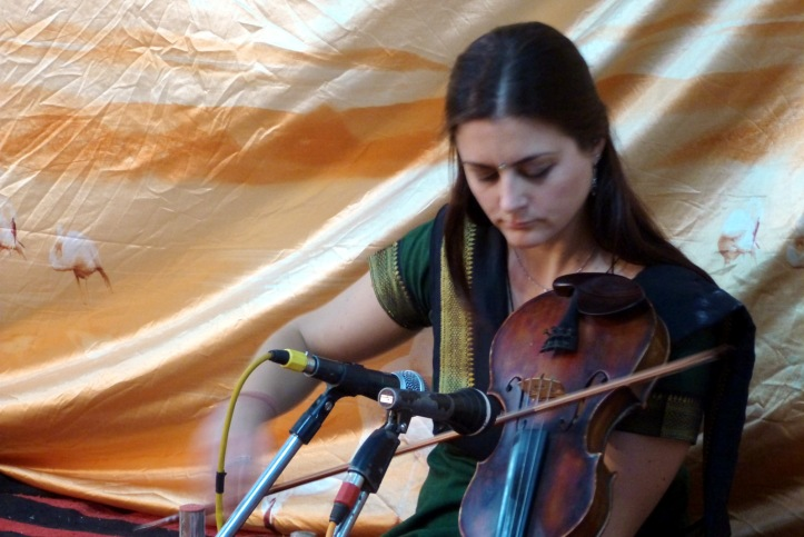 Indian violin: Varanasi, Feb. 2012