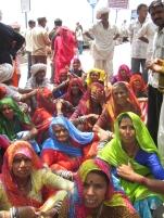 Group of women in Rishikesh (2008)