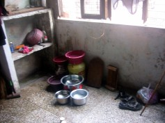 L'autre pièce où on fait la vaisselle