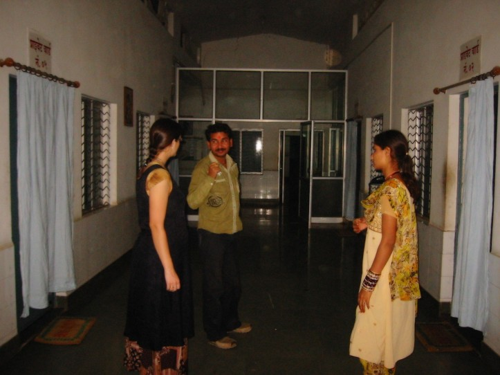 Indian hospitals: Inside an hospital, Chitrakoot (UP, 2009)