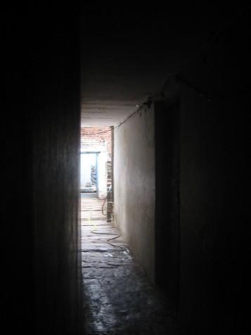 Le couloir qui mène chez Lakshmi