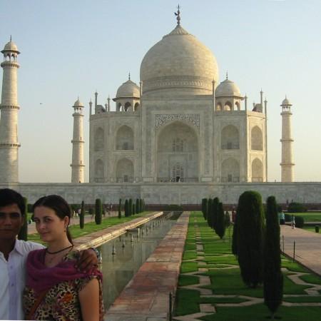 Secret relationship: Taj Mahal, June 2009
