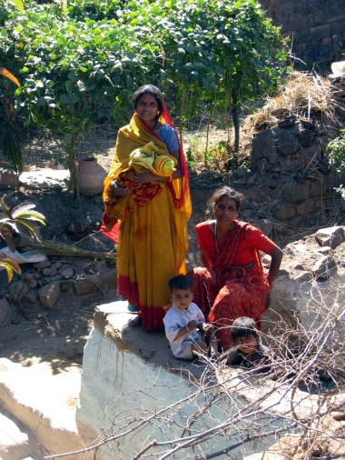 In the village of one of Kishan's sisters (2008)