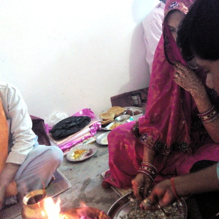 Marriage puja